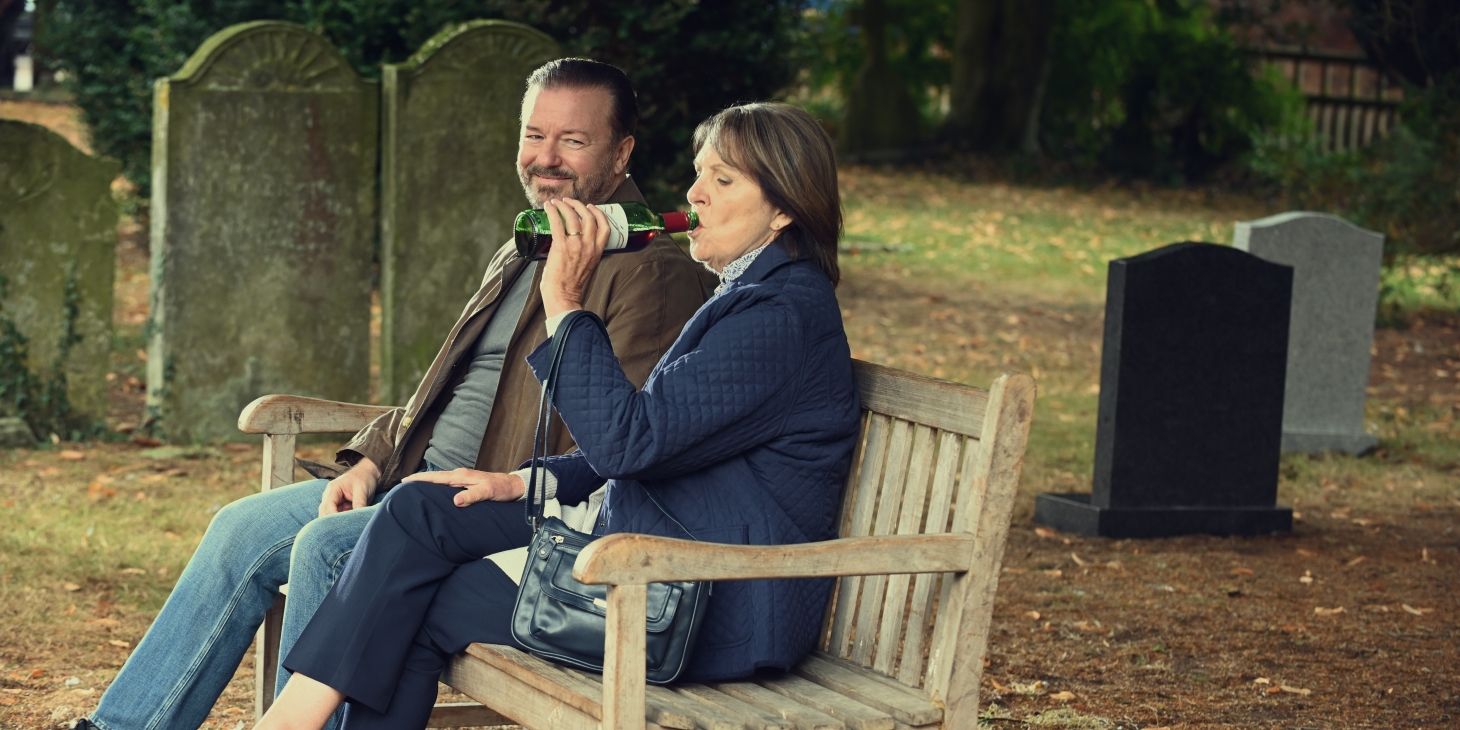 After Life, Ricky Gervais, Penelope Wilton, Netflix