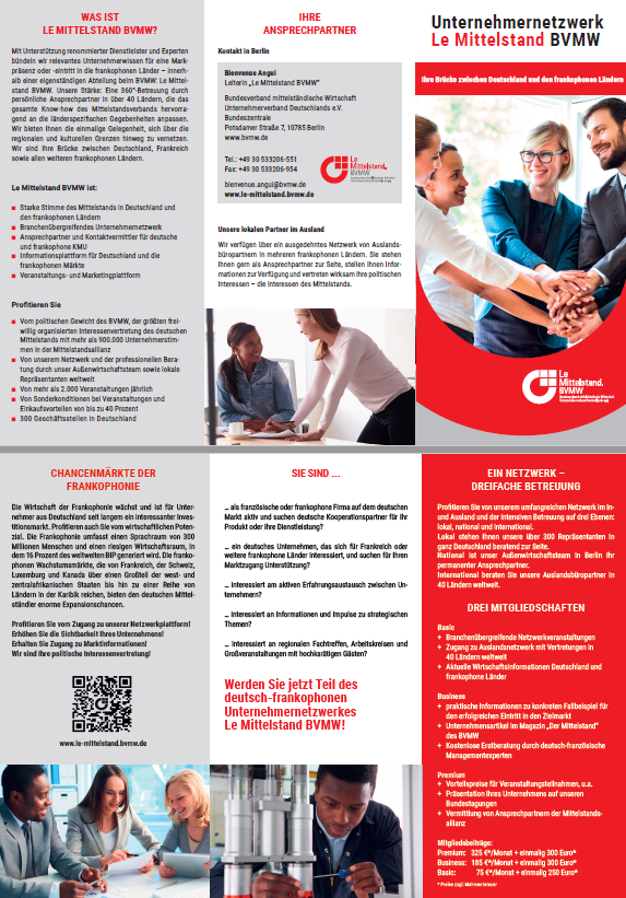 Flyer Le Mittelstand
