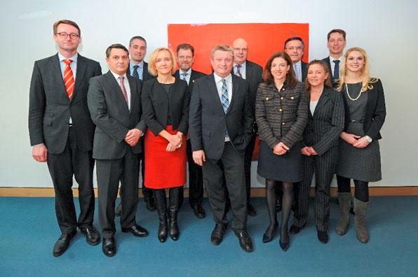 Partner der Mittelstandsallianz mit Bundesgesundheitsminister Hermann Gröhe