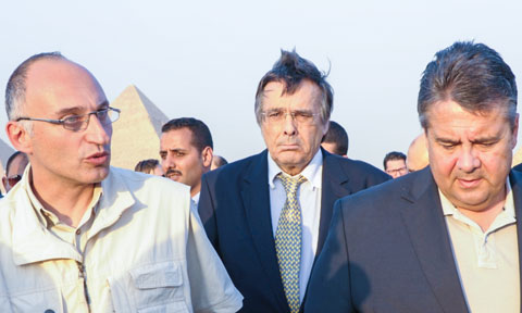 Dr. Tarek Tawlik, Mario Ohoven, Sigmar Gabriel