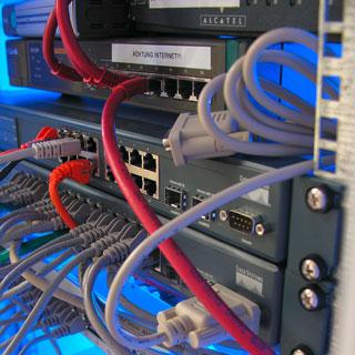 Netzwerk Verkabelung