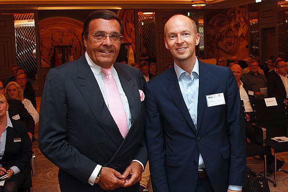 Mario Ohoven und Tim Göbel, Geschäftsführender Vorstand der Schöpflin Stiftung