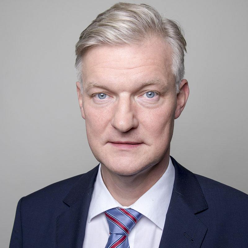 Portrait von Dr. Hans-Jürgen Völz, Chefvolkswirt des BVMW
