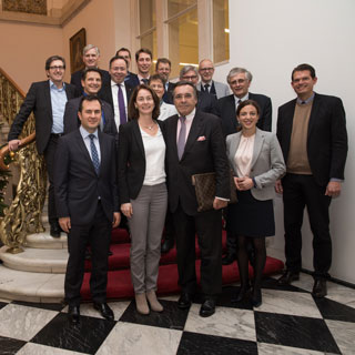 Mitglieder der Mittelstandsallianz mit SPD-Generalsekretärin Dr. Katharina Barley