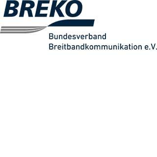 Logo des Bundesverbandes Breitbandkommunikation e.V. (BREKO)