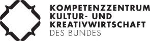 Logo des Kompetenzzentrums  Kultur- und Kreativwirtschaft des Bundes