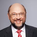 Portrait von SPD-Kanzlerkandidat Martin Schulz