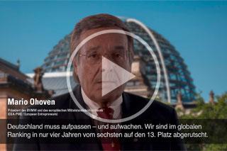 """Zum Podcast """"Deutschland droht der Absturz"""""""