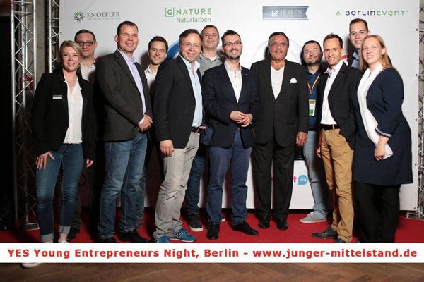 500 Jungunternehmer kamen zur Young Entrepreneurs Night