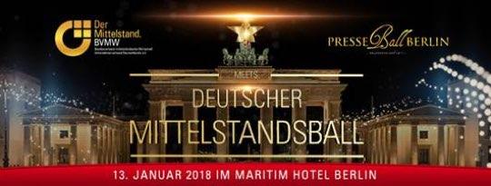 Attraktive Sonderkonditionen für den Deutschen Mittelstandsball