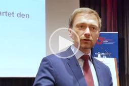 FDP-Chef Christian Lindner spricht auf der BVMW-Bundestagung in Königswinter