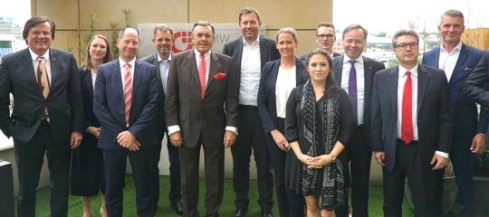 Die Mittelstandsallianz traf Lars Klingbeil, SPD-Generalsekretär, zum Gespräch.