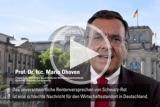 In seinem monatlichen Podcast mahnt Mittelstandspräsident Prof. Dr. h. c. Mario Ohoven vor weiteren Sozialausgaben.