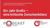 Seit gut einem Jahr regiert die Große Koalition. Doch was hat sich in dieser Zeit getan? In seinem monatlichen Podcast zieht Mario Ohoven eine kritische Zwischenbilanz.