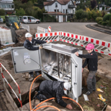 Verfolgen Sie im Ausbauticker der Telekom, wie weit der Glasfaserausbau in Deutschland ist.
