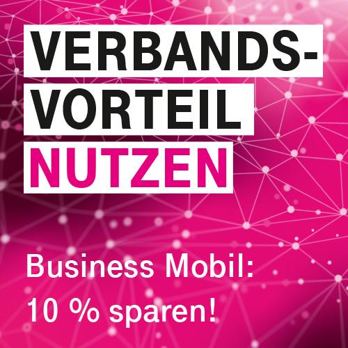 Jetzt 10 Prozent sparen bei Business Mobil