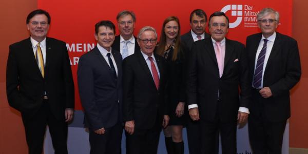 Erfolgreiche Unternehmerpersönlichkeiten im neuen BVMW-Vorstand