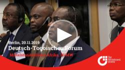 Event über die Investitionsmöglichkeiten für deutsche Mittelständler im Togo.