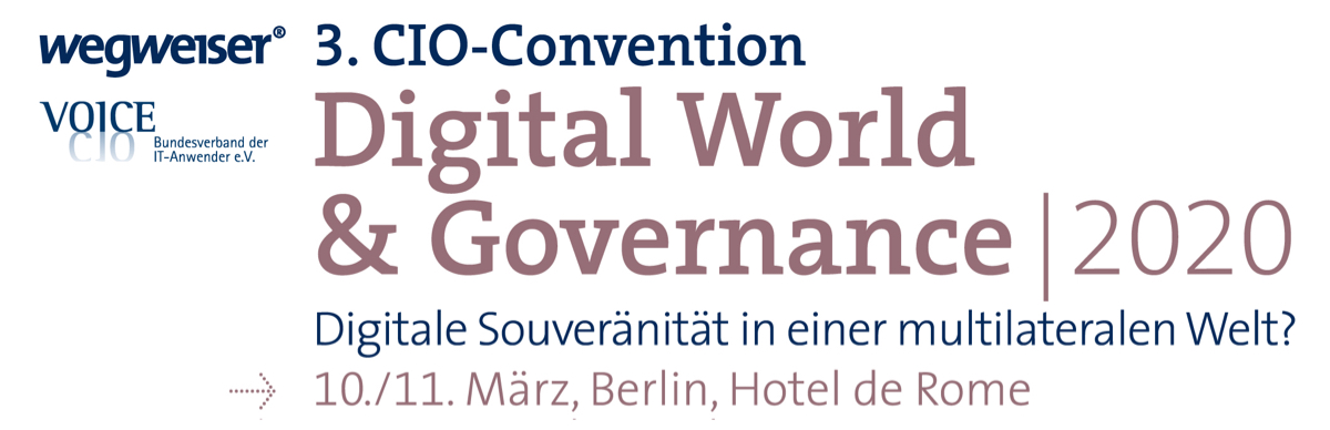 3. CIO-Convention Digital World & Governance