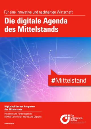 Unter Federführung der BVMW-Kommission Internet und Digitales wurde mit der digitalen Agenda des Mittelstands ein digitalpolitisches Fundament für den Mittelstand geschaffen.