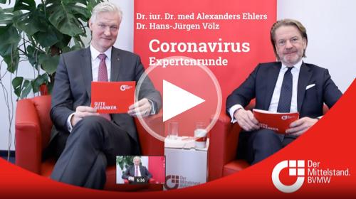 Expertenrunde zum Coronavirus