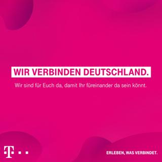 Die Deutsche Telekom sorgt dafür, dass jetzt alle digital zusammenbleiben und zusammenrücken können.