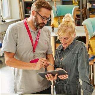 Flexible Produkte der Telekom machen eine neue Art von mobiler und produktiver Zusammenarbeit möglich.