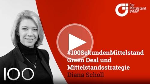 Diana Scholl, Leiterin politische Netzwerke und Strategie, äußert sich über die vorgelegte Industrie- und Mittelstandsstrategie der Europäischen Kommission.