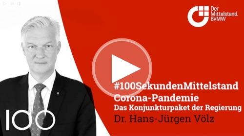 Dr. Hans-Jürgen Völz, Leiter Volkswirtschaft, äußert sich zum Konjunkturpaket der Bundesregierung.