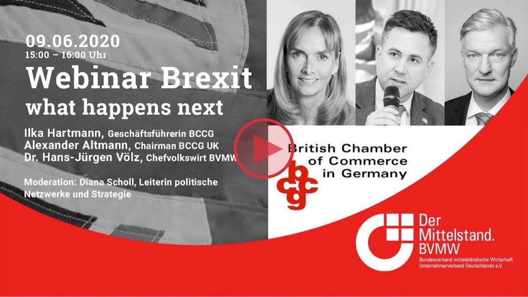 Neben Corona rückt zunehmend auch der Brexit wieder in den Blickpunkt. Experten der British Chamber of Commerce Germany beraten den Mittelstand.