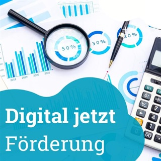 """Übersicht über das neue Förderprogramm """"Digital jetzt"""""""