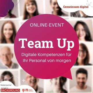 """Informationen zum Programm und zur Anmeldung von """"Team Up"""""""