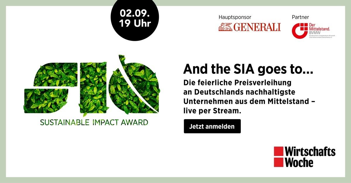 Verfolgen Sie die Verleihung des SIA live im Stream!