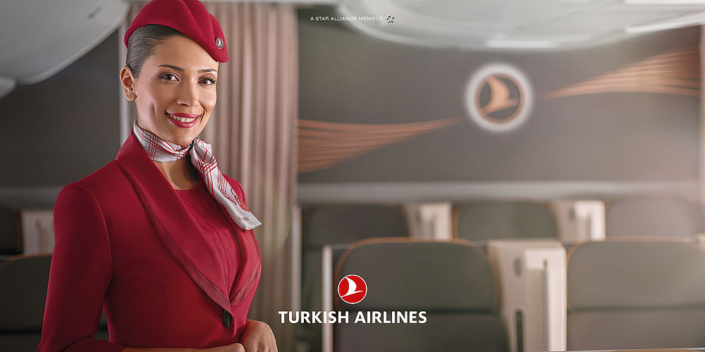 Turkish Airlines Business Cabin