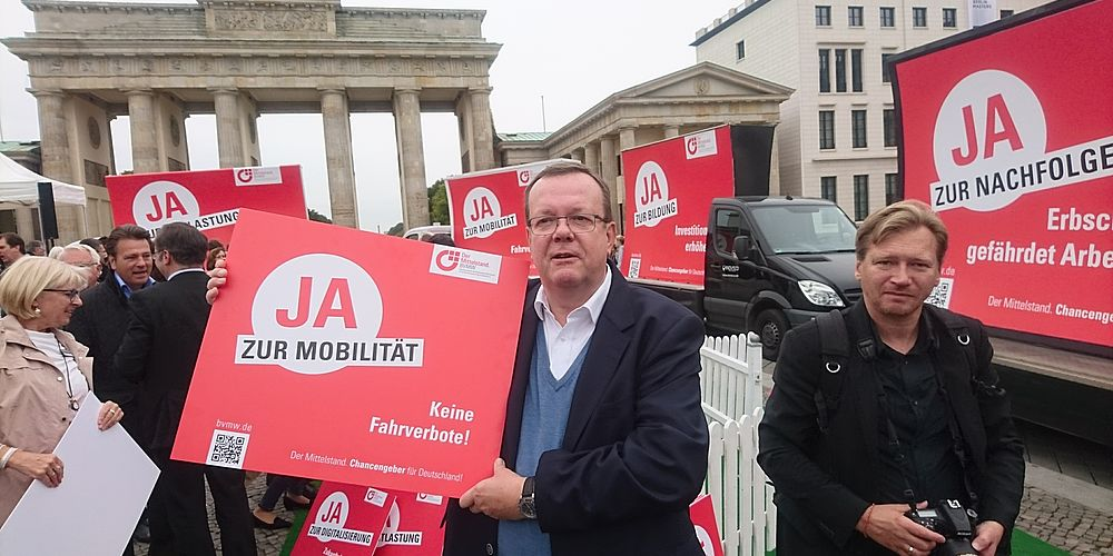 BVMW demonstriert in Berlin