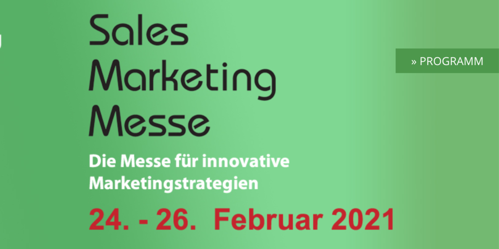 Sales Marketing Messe 2021