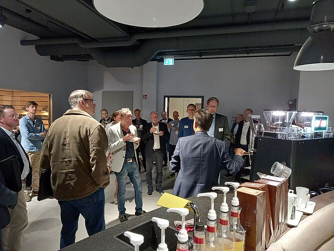 BusinessMeeting bei CUP&CINO