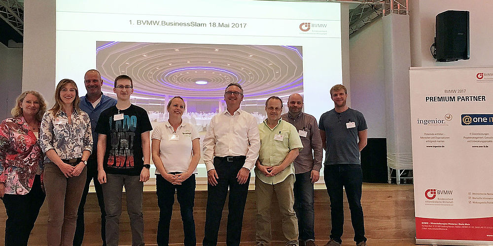 1. BVMW Business-Slam im Kurhaushotel Bad Salzhausen