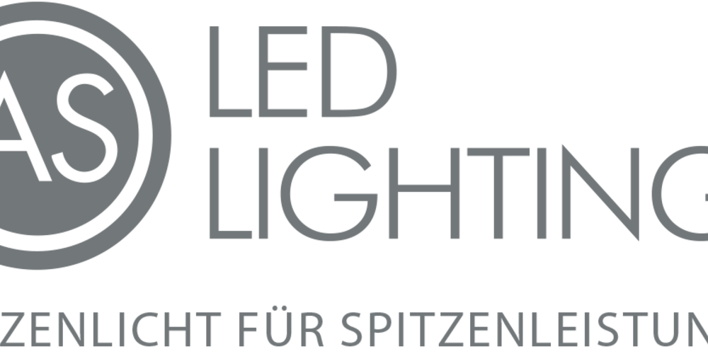 AS LED Lighting Logo
