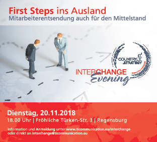 Interchange Evening – First steps ins Ausland