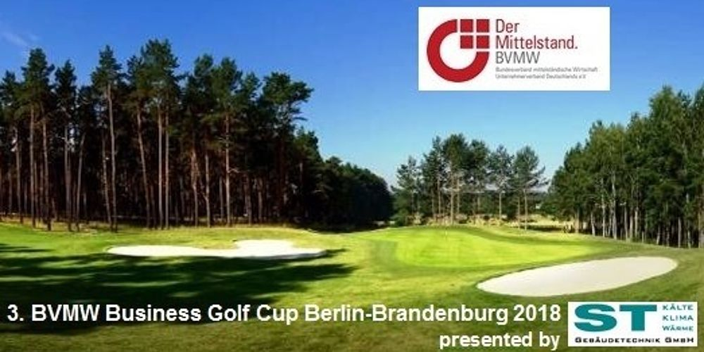 3. BVMW Business Golf Cup Berlin-Brandenburg am 14.09.2018