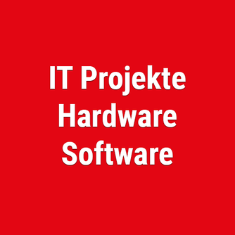 Projektmanagement, Software, Hardware