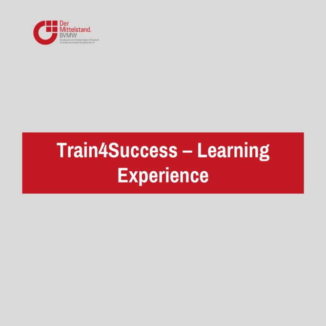 Train4Success – Learning Experience