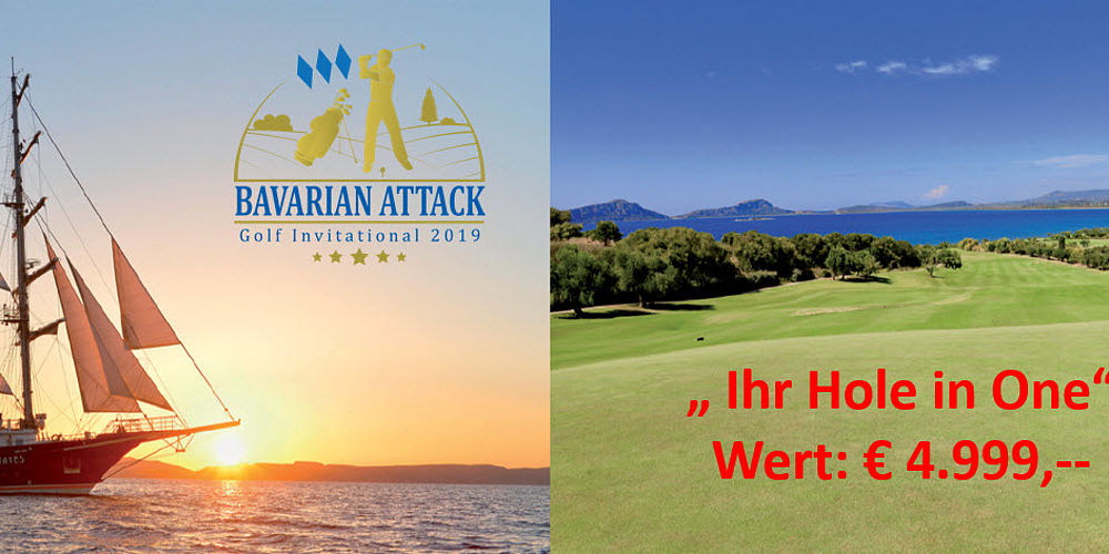 Hole in One beim Bavarian Attack