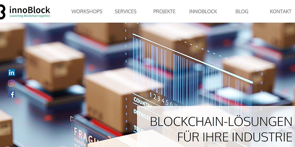 Website Fa. Innoblock