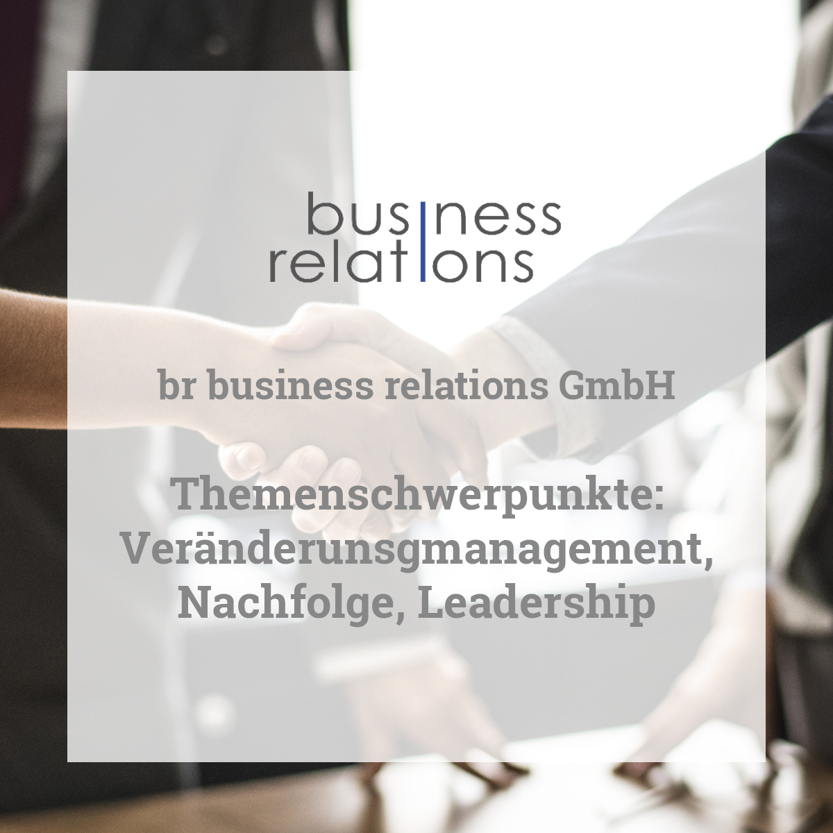 br business relations GmbH