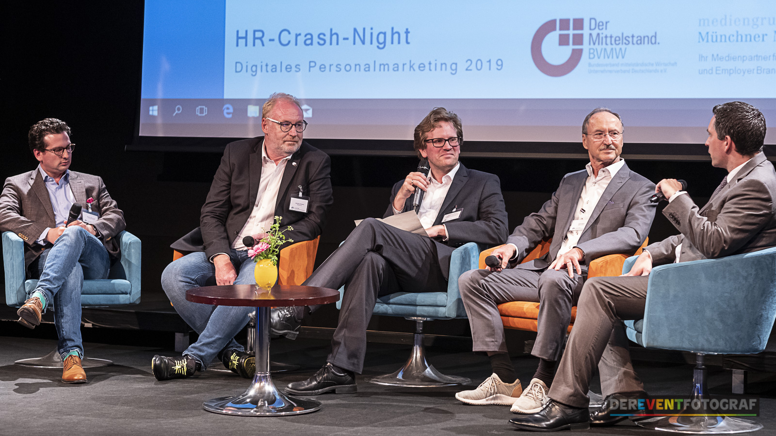 HR Crash Night Podiumsdiskussion; Foto: Andreas Schebesta, der Eventfotograf